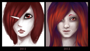 Draw this again (1 year) by ynne-black