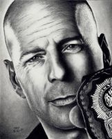 Bruce Willis - Cop Out by Doctor-Pencil