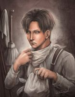 Attack on Titan - Levi by ChantDeLaCorneille