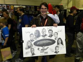 TNG drawing SIGNED!!! by bronze-dragonrider