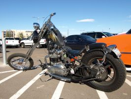 Triumph Chopper by Swanee3