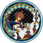 Sora Stained Glass by Maleficent84