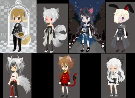 Free Adopts 10 :CLOSED: by Carlie21