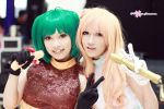 Macross Frontier - Ranka and Sheryl by harasawahiiragi