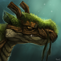 DAY 178. Forest Dragon (25 Minutes) by Cryptid-Creations