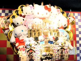 Happy new year by Hello Kitty by pgChan