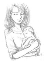 Mother and Son by LadyBelial