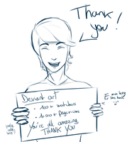 THANK YOU! by Dekanh