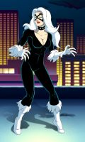 spider man the animated series black cat by stalnososkoviy