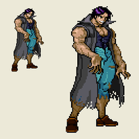 Sprite Work: The 'Laughing Cannibal' by SXGodzilla