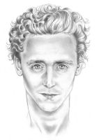 Tom Hiddleston Portrait by Lord-Stardust