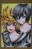 Roxas X Xion by alexis360100