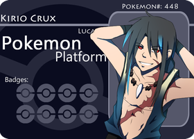 PokePlatform Battle Card:Kirio V1 by AzureBlaxis