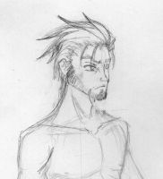 Day 134 - Male Character Sketch by Chame