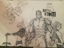 X-men Blank Cover by Drakelb