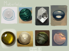 Material Studies by Coffee--Pot