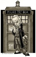 1st Doctor by badgerlordstudios