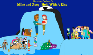 Mike and Zoey- Held With A Kiss by jacobyel