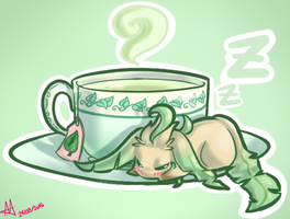Tea Time Nap by Nobody-alchemist