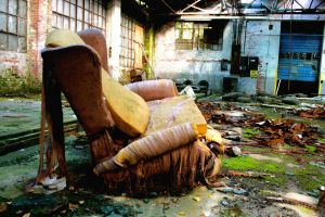 The End of the World Chair by aaronisbadnews