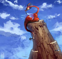 Dragon Roost Valoo by Stormful