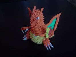 Origami Charizard by Smimon