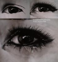 Eye - charcoal by mydrawings11