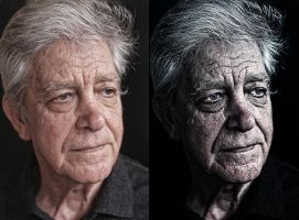 Old Man Retouch by DistrictAliens