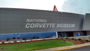 The National Corvette Museum Entrance  by Shiplover444