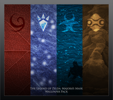 Majora's Mask Wallpaper Pack by paridox