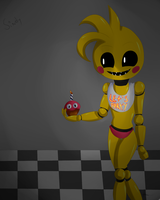Toy Chica by sindythe-hedgehog