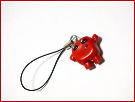 SUPER MEAT BOY! - Cell Phone Strap by CookingMaru