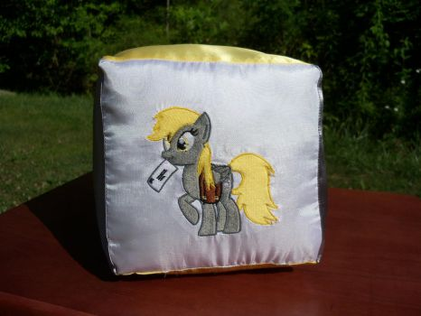 derpy hooves cube plush by davidbillups