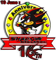 Shadow' 10 th Anniversary by Mery-the-Hedgehog
