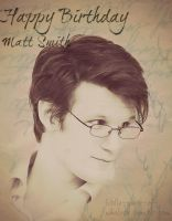 HappyBirthday MattSmith by NotAnotherFanArtist