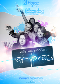impro theatre - ar-prats by niftydesigns