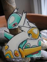 Shiny Latias+Latios ACEO by RonTheWolf