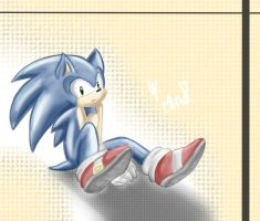 Sonic by mino-the-cat
