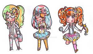 Decora adoptables -CLOSED- by bejja