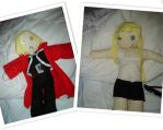 Ed Elric and Winry Rockbell by vegalume