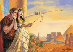 Antony and Cleopatra by Elf-Fin