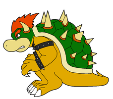 Bowser colored by Riptor25