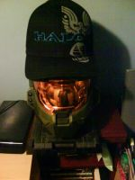My New Hat :D - On Master Chief :P by demon1993