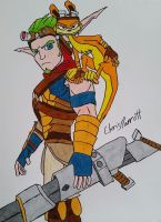 Jak and Daxter by DarthPlanet97