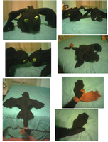 New Toothless Plush by ShortyLego
