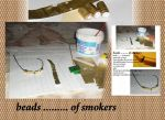 Crafts: Beads Patterns of smokers by roula33