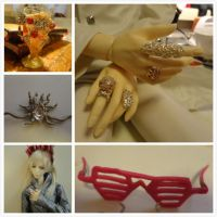 Thranduil Cosplay: Ring, Goblet and Glasses by leoniely