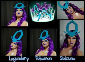 Pokemon Makeup Series - Suicune by Luthy-Lothlorien
