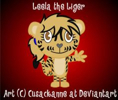 HTF - Leela the Liger by cusackanne