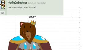 question 6 party pat by AskThe-Plushy-King